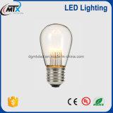 ST45 1W LEDの軽いe27省エネの白熱電灯の球根