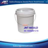 Molde de balde de plástico com tampa