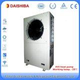 Ar da bomba de calor do inversor a molhar para o aquecimento da casa, refrigerar e a água viva quente