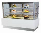 케이크 진열장 빵집 전시 광고 방송 냉장고