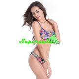 Schulter-Art-reizvoller Bikini für Frauen