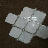 GroßhandelsBinano Carrara weißer Mosaik-Fliese-Marmor
