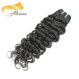 人間の毛髪の完全な手によって結ばれるバージンのRemyの毛の拡張
