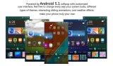 """El androide 5.1 5.0MP 3G WCDMA 1850mAh del teléfono móvil 1.3GHz 1GB 8GB de la base Mtk6580 del patio de Vkworld F1 original 4.5 """" se dobla rojo elegante del teléfono de SIM"""