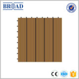 China Direct Sale Price WPC Solid Decking, Vários cor e Design DIY Floor