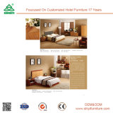 Atacado Hotel Modern Furniture Iron Wood Bedroom Set
