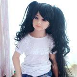 Muñeca japonesa del sexo del juguete del amor de la muchacha del pequeño pecho plano de la muñeca el 108cm