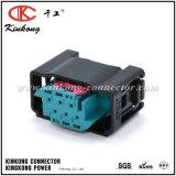 9-967616-1 6 dos conetores fêmeas do fio do Pin conetores elétricos automotrizes