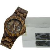 Gezond Milieu Gestreept Houten Horloge