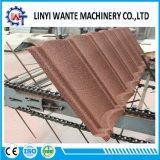 Tuile de toit en aluminium enduite en métal de pierre en esclavage de matériau de construction avec la résistance du vent 120mph