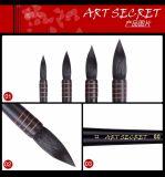 Комплект щетки искусствоа художника ручки волос лошади деревянный