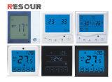 Interruttore del termostato dell'affissione a cristalli liquidi, termostato della stanza dell'affissione a cristalli liquidi per condizionamento d'aria
