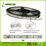 5m impermeable / Roll 300LEDs 14.4W / M 5050 SMD RGB tira flexible del LED