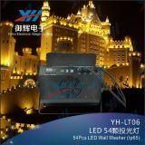 luz da arruela da parede da barra do estágio do diodo emissor de luz 54PCS