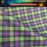 ポリエステルあや織りの衣服またはズボン(YD1114)のためのヤーンによって染められる小切手のスパンデックスかShirting伸縮性があるファブリック
