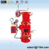 Preaction de Kleppen van de Stortvloed van het Brandalarm, Pre-Action de Sprenkelinstallatie van de Brand