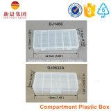 6 de verticale Doos van de Opslag van het Compartiment Plastic