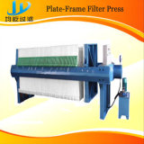 Bergbau Platte-Rahmen Presse-Filter mit 35% der festen Kinetik des Klärschlamm-Kuchens