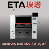 Обломок Mounter Samsung PCB SMD откалывает выбор и устанавливает машину