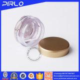 choc cosmétique en plastique de 5g 5ml avec le couvercle d'or