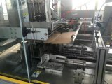 Machine à emballer se pliante de empaquetage de mastic de colmatage de cachetage de cadre semi automatique de carton
