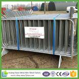 1100 * 2200mm Acabado en caliente Galvanizado o Power-Coating Removable Flat Feet Barrier