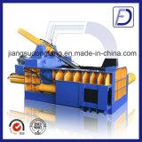 Kupferne Aluminiumdosen-Stahlballenpresse, die Maschine aufbereitet