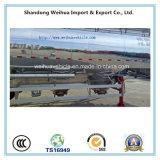 Leichtes Aluminiumlegierung-Becken, Massenpuder-Becken, Kleber-Becken-Schlussteil