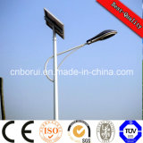 El precio de fábrica de aluminio durable LED integrado luces de calle solares 5 años de garantía
