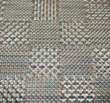 PVC Placemat do Weave do jacquard para a HOME & o restaurante
