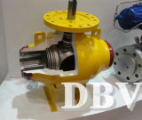 Válvula de bola de soldadura DIN completa para alta presión