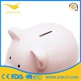 개인화된 세라믹 돼지 저금통 동전 은행 돈 저축 상자 선물