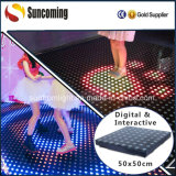 Casa interattiva Tempered di vetro LED Dance Floor