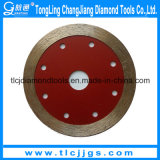 Hot Pressed Super Thin Saw Blade para cortar Hard Rock