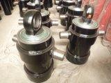 Малый телескопичный гидровлический цилиндр для тележки сброса