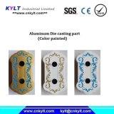 Покрашенная цветом часть отливки давления алюминиевого сплава (ручка/ручка/держатель)