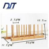 Sostenedor de taza de bambú del gran del diseño de la taza sostenedor de bambú de la visualización