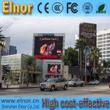 Pantalla de visualización publicitaria a todo color al aire libre impermeable de LED de HD