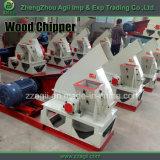 Máquina lascando-se de madeira da fonte de Agii, registros de madeira, árvore, máquina Chipper de madeira