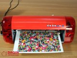 Impresora convivial de la piel de la etiqueta engomada del diseño 3D automática para la última impresora del corte de la piel de la computadora portátil con software del diseño