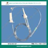 Heißer Verkaufs-gute Qualitätspreiswerter Preis-Wegwerfinfusion-Set
