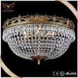 Beleuchtung der klassisches Bronzemetallkristalldecken-E14 (MX7382)