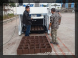 移動式セメントの空のブロックの卵置く機械