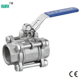 3PCS Ball Valve con Locking Device