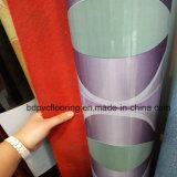 Roulis en plastique 0.7mm de tapis de support du marché de l'Irak de plancher rouge de PVC