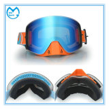 Lunetterie de emballage polarisée de Snowboard de sûreté de PC UV de 400 Revo