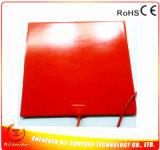 220V 1000W 500*500*1.5mm 3D Printer Verwarmde RubberVerwarmer van het Silicone van het Bed