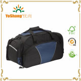 Grands sacs de Duffle noirs portatifs faits sur commande de gymnastique de sac de voyage de sac de sport