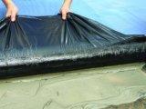 Membrane imperméable à l'eau de bitume auto-adhésif de HDPE de matériau de construction pour le toit en bois