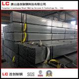 Stahlgefäß des schwarzen Quadrat-En10219/Rohr-Schweißung. Q235